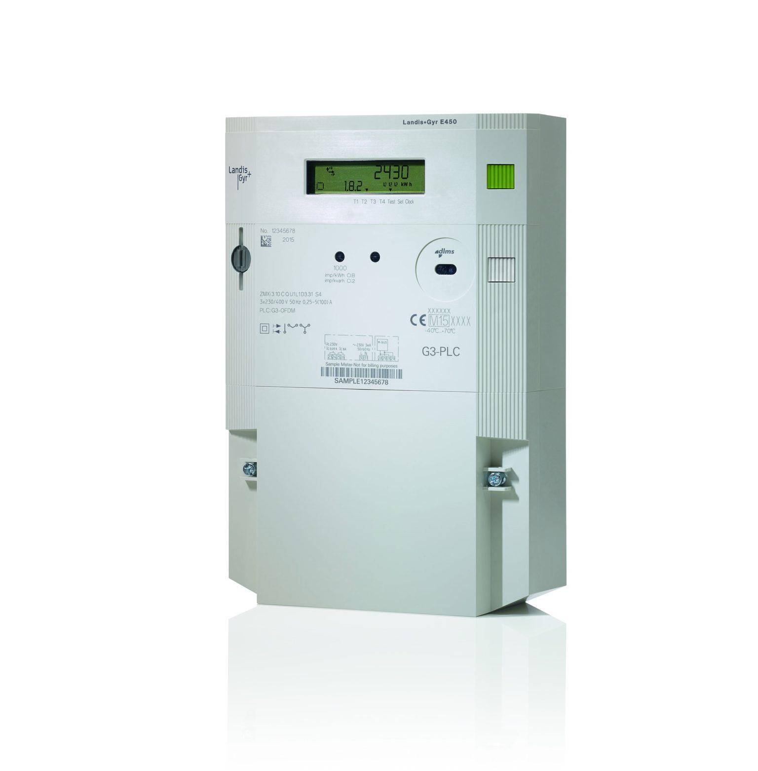 Residential Electricity Monitors : Landis gyr e